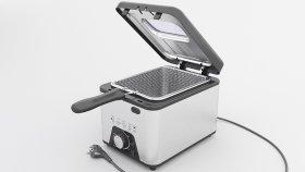 Deep Fryer Maker 3D Model 1