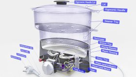 Countertop Blender Inside 3d (1)