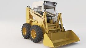 Forklift Valmet TD78 3d (2)