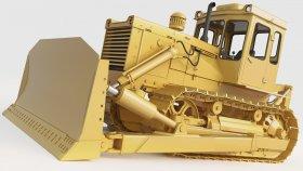 Bulldozer Staliniec T130 3d (3)