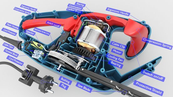 Hedge Trimmer Inside infographic 3d (1)