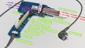 Inside Heat Gun 1 3d
