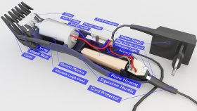 Hair Clippers Battery Low Inside 3d (1)
