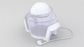 Halogen Oven Lowpoly 3d (1)