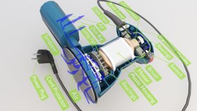 Inside Grinder Oscillatory Tool Lowpoly 3d (1)