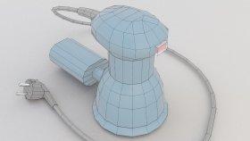 Grinder Oscillatory Tool Lowpoly 3d (1)