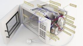 Inside Microwave Lowpoly 3d (1)