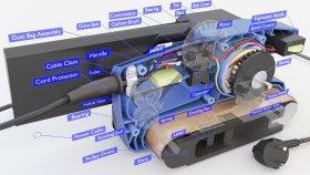 Belt Sander Inside Lowpoly 3d (1)