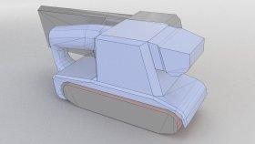 Belt Sander Lowpoly 3d (1)