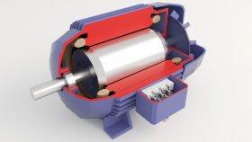 lowpoly Electric Motor Inside 3d (4)
