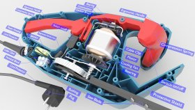 Lowpoly Hedge Trimmer Inside infographic 3d (1)