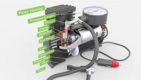 Mini Portable Car Air Compressor Inside 3d (1)