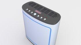 Air Purifier 3D Model 1