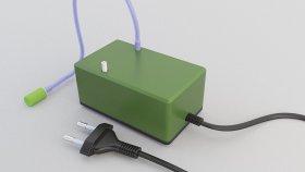 Aquarium Filter & Air Pump 3d (2)