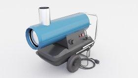 Lowpoly Heater Oil 3d (1)