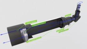 Telescope Refracting Inside 3d (3)