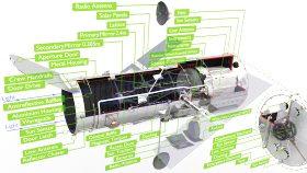 Telescope Hubble Inside 3d (7)