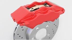 Brakes Disc 3D Model 2