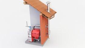 Chimney Boiler Furnace 3d (15)
