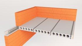Roof & Floor inside Concrete Ceiling 3d (7)