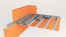 Roof & Floor inside Concrete Ceiling 3d (8)