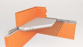 Roof & Floor inside Concrete Ceiling 3d (10)