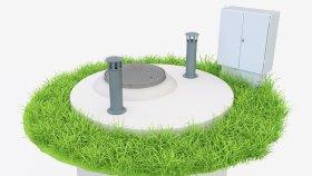 Sewage Pump Station 3d (2)