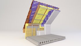 Attic Inside Two-layer Insulation 3d (3)