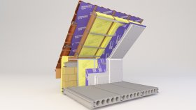Attic Inside Two-layer Insulation 3d (4)