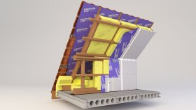 Attic Inside Two-layer Insulation 3d (6)