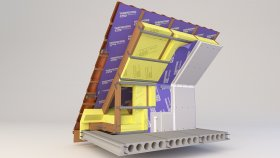 Attic Inside Two-layer Insulation 3d (7)