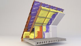 Attic Inside Two-layer Insulation 3d (8)