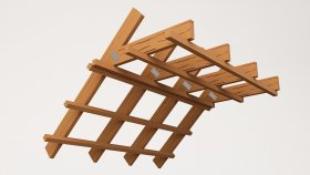 Attic Wooden Profile 3d (11)