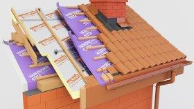 Roof Inside Above Rafter Insulation PIR 3d (22)