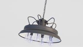Lamp Steampunk & Loft 3d (259)
