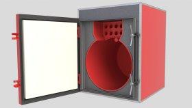 Boiler Furnace Biomass 3d (4)