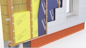 Wall Inside Plastic Facade Panels 3d 22