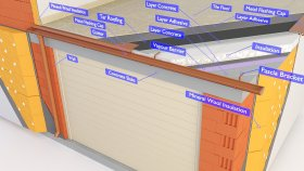 Balconies Terrace Inside Garage 3d (1)