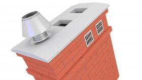 Chimney Bricks 3d 30
