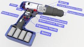 Inside Power Drill Battery 3d (2)