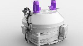 Planetary Concrete Mixer 3d (2)