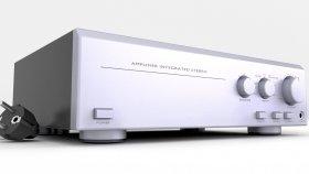 HiFi Amplifier 3d 38