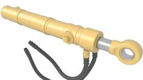 Hydraulic Piston 3d 10