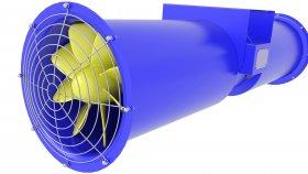 Fan Cooling Motor 3d 26