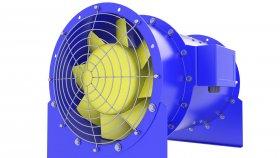 Fan Duct Ventilation Tunnel 3d 27