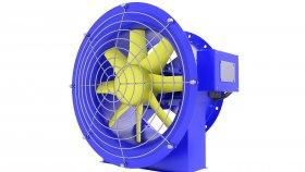 Fan Duct Ventilation Tunnel 3d 29