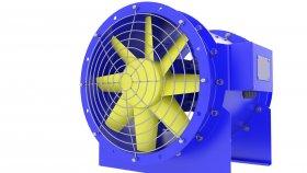 Fan Duct Ventilation Tunnel 3d 28