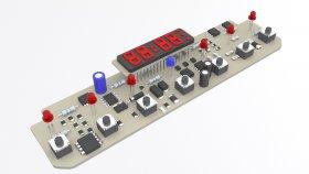 Electronics Board 3d 4
