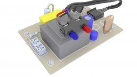 Electronics Board 3d 9