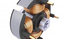 Electric Motor Stator 3d 27